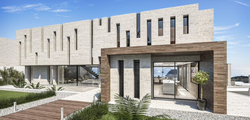 Spectacular Brand New Luxury Villa with Stunning Sea Views