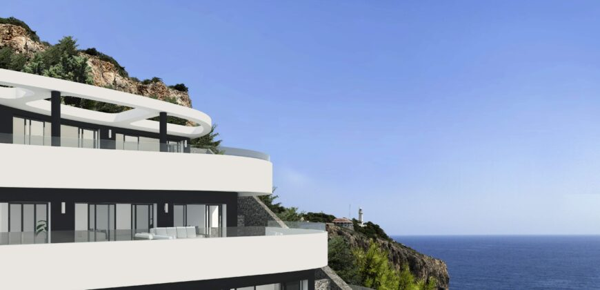 A Modern Luxurious Sea View Villa