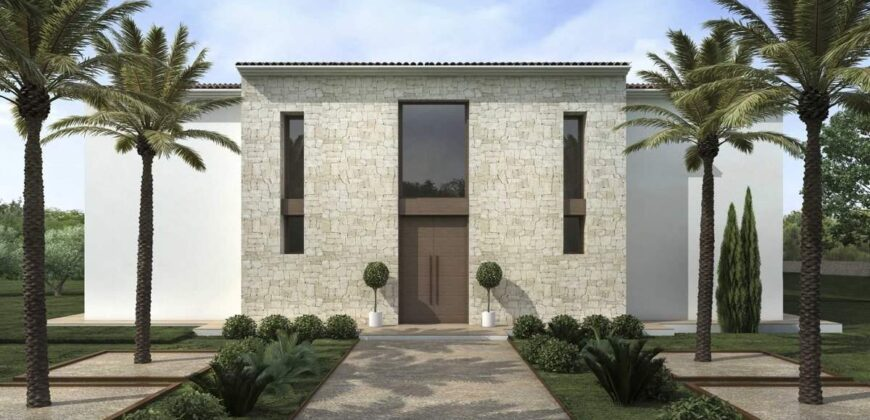 Newly Built Modern Country House
