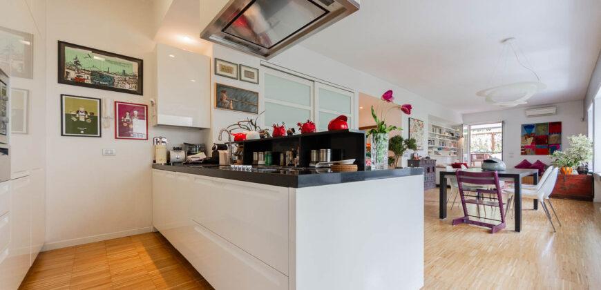Rome Ponte Milvio Apartment – Elegant Renovated House with Terrace and Balcony