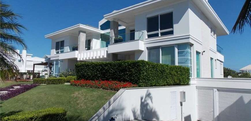 OCEANVIEW and 100mt Sea Jurerê Internacional Beach-FLORIANÓPOLIS-BRAZIL-Luxury Mansion Furnished 6Suites