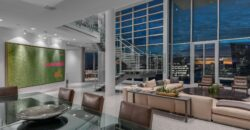 A MAGNIFICENT PENTHOUSE RESIDENCE LOCATED ATOP THE FAIRMONT PAC RIM HOTEL IN VANCOUVER