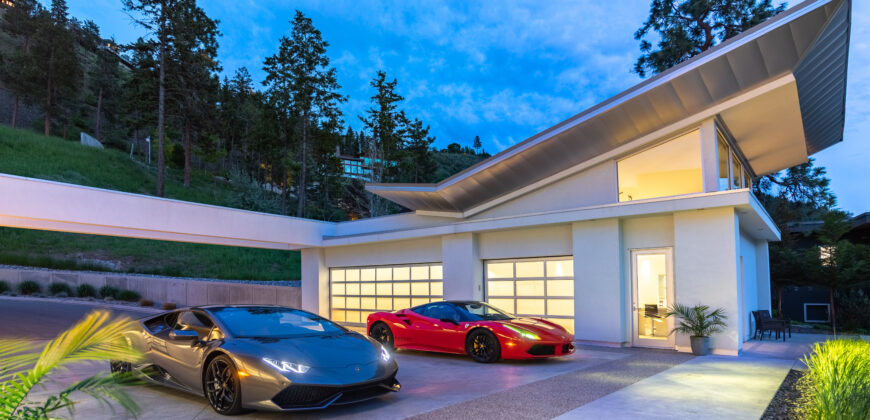 SIN CERAS, A WORLD CLASS LAKEFRONT MODERN ESTATE RESIDENCE IN KELOWNA