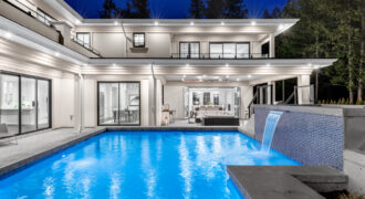 A MAGNIFICENT RECENTLY COMPLETED 'DREAM HOME' JUST STEPS TO STEARMAN BEACH IN WEST VANCOUVER
