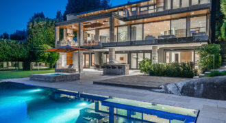 A MAGNIFICENT MODERN DREAM HOME WITH SPECTACULAR VIEWS IN WEST VANCOUVER MOST COVETED LOCATION