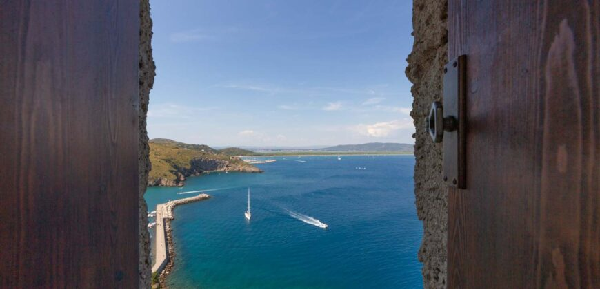 Castle for Sale in Italy – Tower Apartment in Tuscany on the Sea