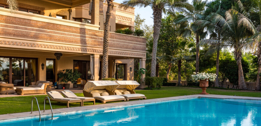 Furnished Moroccan French Inspired Villa